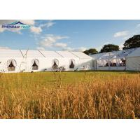 Buy cheap Double PVC - Coated Polyester Huge Party Marquee Tent Decoration For Marriage from wholesalers