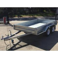 Quality 10x6 Hot Dipped Galvanized Tandem Trailer 2000KG wholesale