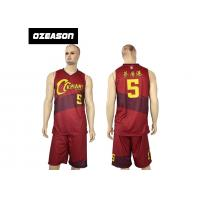 Quality Hotsale Sublimated Custom Quick Dry Basketball Jersey Wear For Sale wholesale