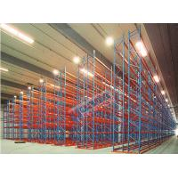 Quality 2500 Kg Per Pallet Rack Shelving Q345 Steel Rack Storage With Narrow Aisle wholesale