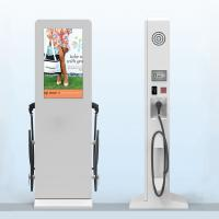 Quality Outdoor Electrical Vehicle Quick Charge Stations Lcd Advertising Player Bms Power Source wholesale