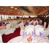 Buy cheap 25*50m White Big PVC Party Tent Close to Riverside For Christmas from wholesalers