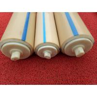 Buy cheap Natural Color Plastic Nylon Rollers Small Power Consumption For Industries , from wholesalers