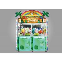 Quality Scissors Man Arcade Claw Machine / 350W Kids Claw Machine With LED Lighting Effect wholesale