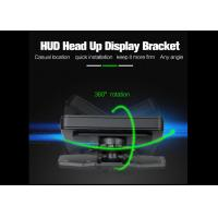 Quality Black Smartphone Heads Up Display HUD Holder Dash Mount Sticky Bracket PC + ABS Material wholesale