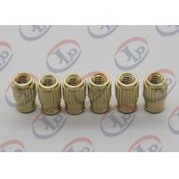 Quality Small Machine Parts Plastic Insert Parts Brass Nuts With Blind Via Hole wholesale