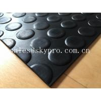 Heavy duty Flooring / gasket 2.5mm - 20mm Rubber Sheet Roll Smooth / embossed Surface