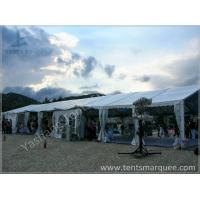 Quality 8x27M Outside custom event tents Aluminum Frame Built on the Coast wholesale