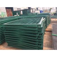 Quality Strong / Durable Metal Mesh Fencing Angle Iron Fence For Guard Reservoir wholesale