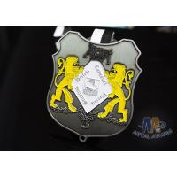 Quality Small Two Lions Logo Enamel Medals Custom Made For Festival Water Proof wholesale