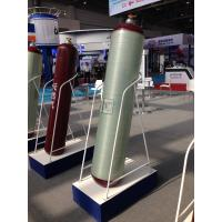 Cheap Type 2 Natural Gas Cylinder with Fiberglass Wrapped ISO11439 Standard OD 420mm for sale