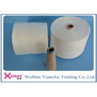 Quality Raw White Virgin 100 Polyester Yarn Z Twist Good Evenness for Sewing wholesale