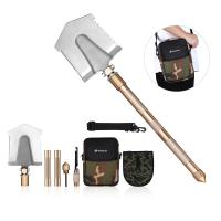 Quality Multifunctional Outdoor Leisure Products All In One Military Shovel Foldable And Portable wholesale