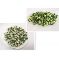 Buy cheap Coated Wasabi Flavor Green Peas Snack Low Fat Kosher Certificate from wholesalers