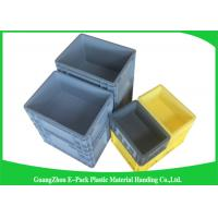 Quality 45 Litre Plastic Euro Stacking Containers Easy Stacking Eco - Friendly 600 * 400 * 230mm wholesale
