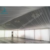 Quality Air Conditioning Outdoor Event Tent , Beautiful Outside Event Tents Luxury Linings wholesale
