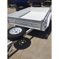 Buy cheap Industrial 10x5 Heavy Duty Tandem Axle Painted Trailer 2000KG With Mudflaps from wholesalers