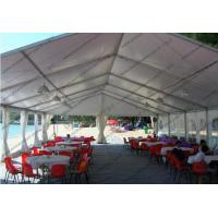 Quality Hard Pressed Circus Play Tent White PVC Cover Church Windows For Beach Party wholesale