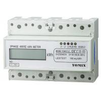 Buy cheap Residential House Use Three Phase Watt Hour Meter Direct Mode LCD 6+1/5+2 from wholesalers