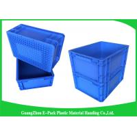 Quality 400*300mm Mini Load Industrial Plastic Containers , Standard Euro Storage Boxes wholesale