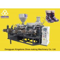 Quality PVC Short Gum boots Injection Machine , Automatic Safety Shoe Making Machine  wholesale