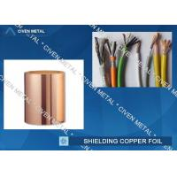 Quality Roll Size ED Copper Foil For Shielding, Made Of Red Copper wholesale
