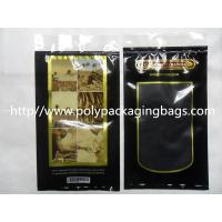 Quality Moisturized System Cigar Humidor Bags Ziplock With Slider Easy Open And Close wholesale