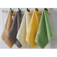 Quality 100% cotton Hotel Face Towel With Different Color wholesale