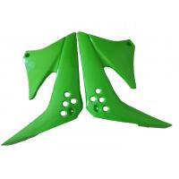 Quality Green Color Motorcycle Fuel Tank Protector Guard Solid Material Fit Kawasaki KLX125 wholesale