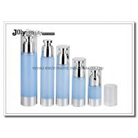 Quality Clear Plastic Airless Pump Bottles Containers , Empty Cosmetic Containers wholesale