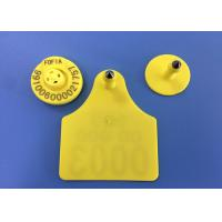 Buy cheap 134.2khz Personalized Cattle Ear Tags , TPU Material Cattle Tracking Ear Tags from wholesalers