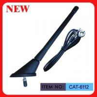 "Quality ISO9001 Top Mounted AM FM Car Antenna Spring Mast 7"" Black Plastic For Car wholesale"