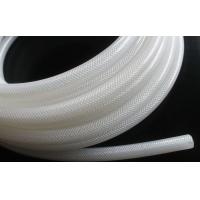 High Purity Fiber Braided Silicone Tubing No Smell Translucent Natural Color