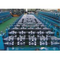 Buy cheap Custom 0.3 - 0.7mm Tile Roll Forming Machine With Double Press Mold And from wholesalers