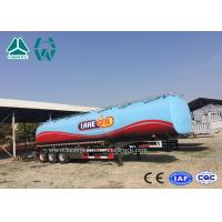 Quality 3 Axles Fuel Tanker Semitrailer For Fuel Transport 30,000 liters to 60,000 liters wholesale