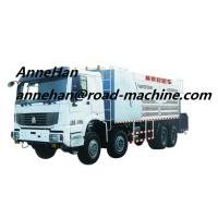 Quality SHMC4M3Slurry Seal TruckWITH ISO CCC APPROVALEuroIII 12.00R22.5Tire Model wholesale
