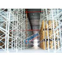 Quality Powder Coating Pallet Rack Shelving , Industrial Pallet Racks Heavy Duty For Singler Layer Stores wholesale