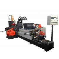 Quality 180KW Masterbatch Single Screw Extruder Kneader Hot Cutting Pelleting System wholesale
