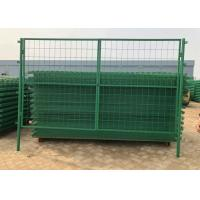 Buy cheap Green Pvc Coated Welded Wire Mesh Fence For Parks / Zoos / Nature Reserves from wholesalers