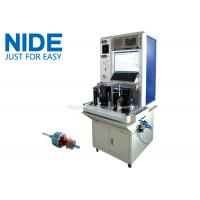 Buy cheap High efficiency Motor Testing Equipment , Armature Tester For Stater Motor from wholesalers