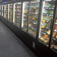 Buy cheap 5 Layers Commercial Beverage Refrigerator Glass Door Upright Freezer For Retail Store from wholesalers