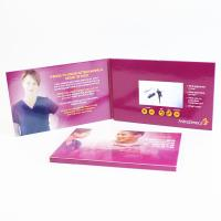 """Quality 10 """" LCD Video Brochure 6 Infolder Buttons 350g / 1200 G Paper Printed wholesale"""