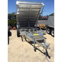 Quality 5 Stage Ram 5 Ton 10x5 Galvanised Tandem Tipper Trailers 3200KG wholesale