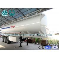 Quality Multi Functional 35 Cbm Stainless Steel Fuel Tank Semi Trailer 3 axles wholesale