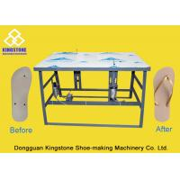 Buy cheap Easy Operate Shoe Making Equipment Slipper Flip Flops Sole Strap Attaching Machine from wholesalers