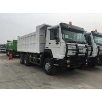 Quality White Heavy Dump Truck With 336hp Euro Ii Emission Standard All Wheel Drive wholesale