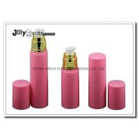 Quality On The Way To The Bottle Injection Section In The Pink Gold Plating Airless Dispenser Bottles wholesale
