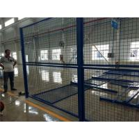 Quality Blue Welded Metal Mesh Fencing Elegant Style Workshops / Warehouse Isolation Fence wholesale