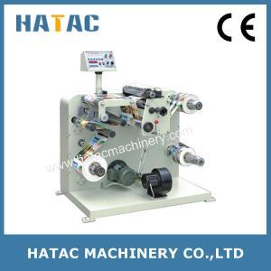 Automatic Adhesive Label Slitting Rewinding Machinery,Stickers Slitter Rewinder Machine