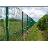 Quality Easy Install 3D Curved Welded Mesh Fence Welded Utility Fence For Public Grounds wholesale
